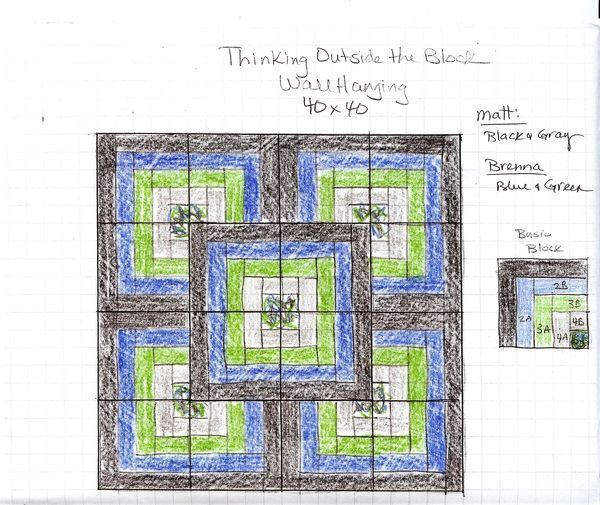 Thinking Outside the Box Quilt