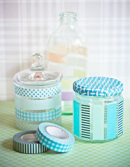 50 DIY Ideas for Washi Tape This is great!! Can't wait to try it with my new tapes!!