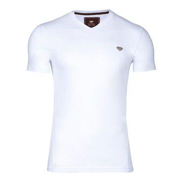 Camiseta Branca Lisa Enkel Precious Fit