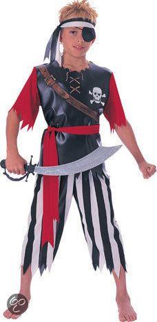 Piraat - Kostuum - 3-4 jaar (voor werk)