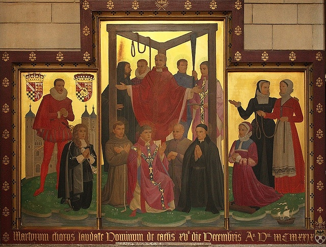 Martyrs of England  Wales under the Tyburn Tree by Lawrence OP, via Flickr (LW30)