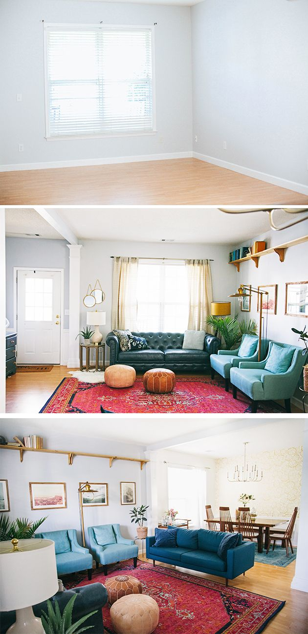 Living Room Makeover Reveal | In Honor Of Design