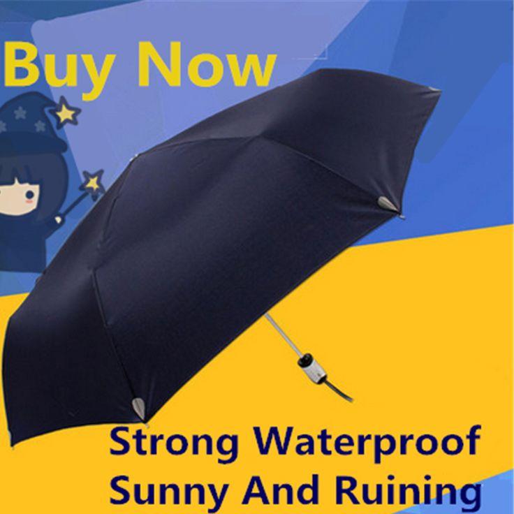 >> Click to Buy << Umbrella Men Windproof Rain Black Stick Paraplu Sombrilla Parasols Adult Beach Women Sunscreen Waterproof Umbrella Fabric QQG68 #Affiliate