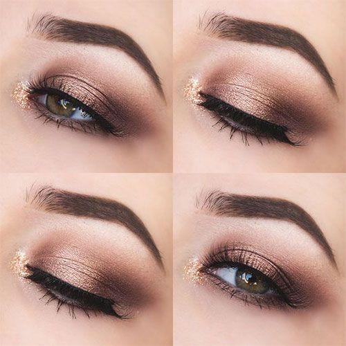 10+ Herbst Augen Make-up Looks & Ideen für Mädchen & Frauen 2018 – ◇~make up~◇
