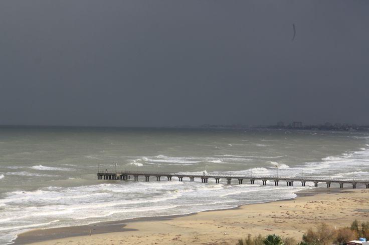 Vasto Marina  #mare #vastomarina #maremosso #inverno #immobiliarecaserio