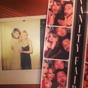 And had fun with Ed Sheeran in a photobooth. | 32 Times In 2014 When Taylor Swift's Crew Gave You New Friendship Goals