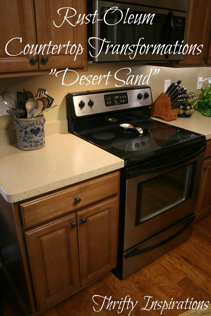 Rustoleum Countertop Paint White : paint my cabs white! :) Countertops Painting, Rustoleum Countertops ...