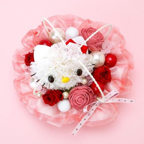 Hello Kitty flower arrangement, Japan