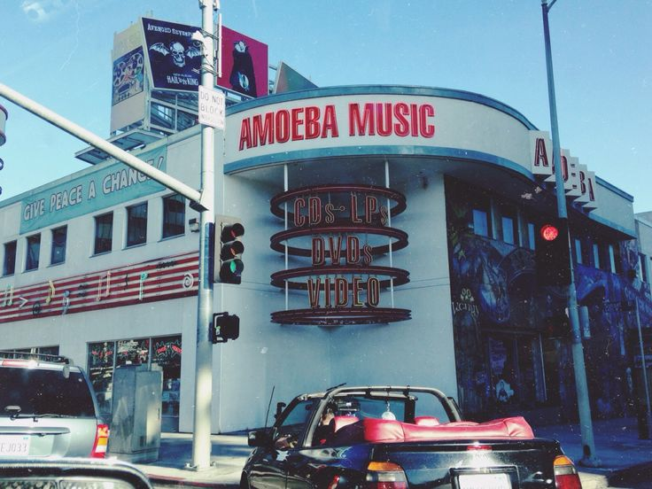 Amoeba Music, Los Angeles, CA. 2013