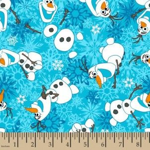 http://www.plushaddict.co.uk/springs-creative-frozen-olaf-snow-flannel.html Springs Creative - Frozen Olaf Snow Flannel