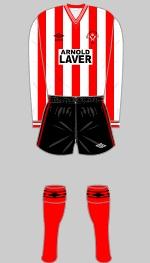 Sheffield United - Historical Football Kits
