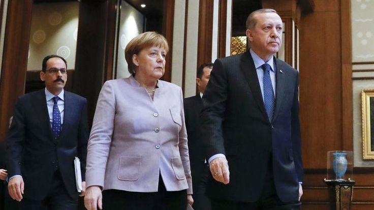 """Στα """"χαρακώματα"""" Γερμανία-Τουρκία - Τα αίτια της νέας κρίσης"""