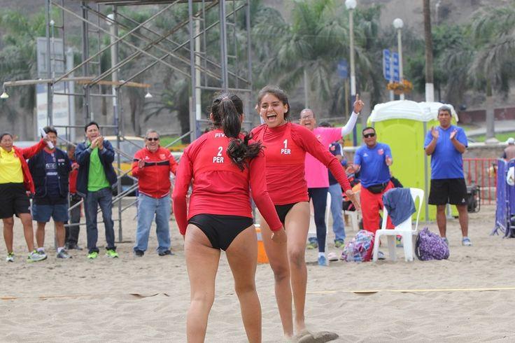 Estación Voleibol: PERÚ CLASIFICÓ AL MUNDIAL DE VOLEIBOL DE PLAYA U19