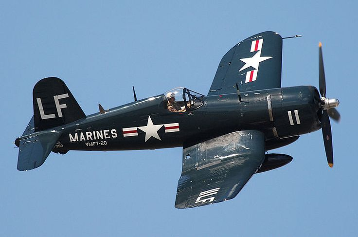 Vought F4U Corsair. Photo courtesy of Gerry Metzler.
