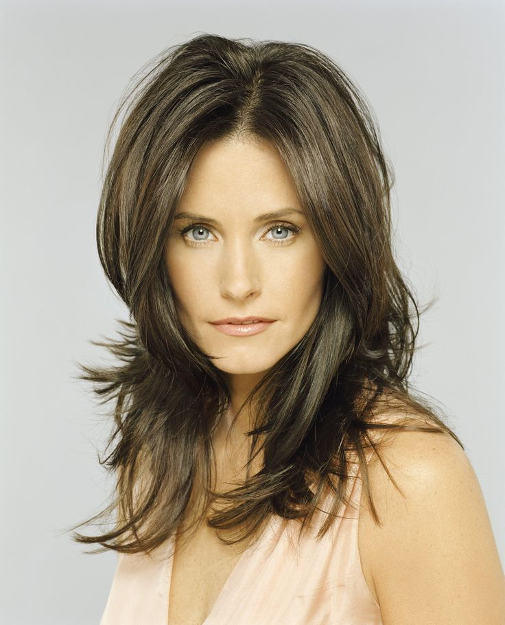 new hair style pics these photos prove that courteney cox just gets hotter 7054 | 339032c027d2e7054dc4aab095de6f49 rachel haircut long hairstyles