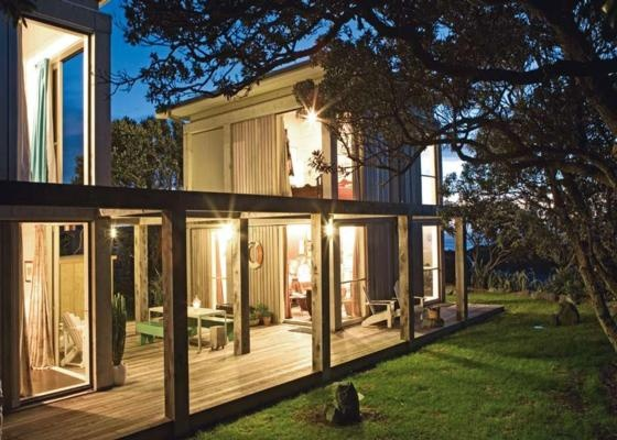 Architecturally Designed beach-front bach in Piha   Bookabach   New Zealand