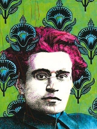 Antonio Gramsci illustration by Gianluca Costantini
