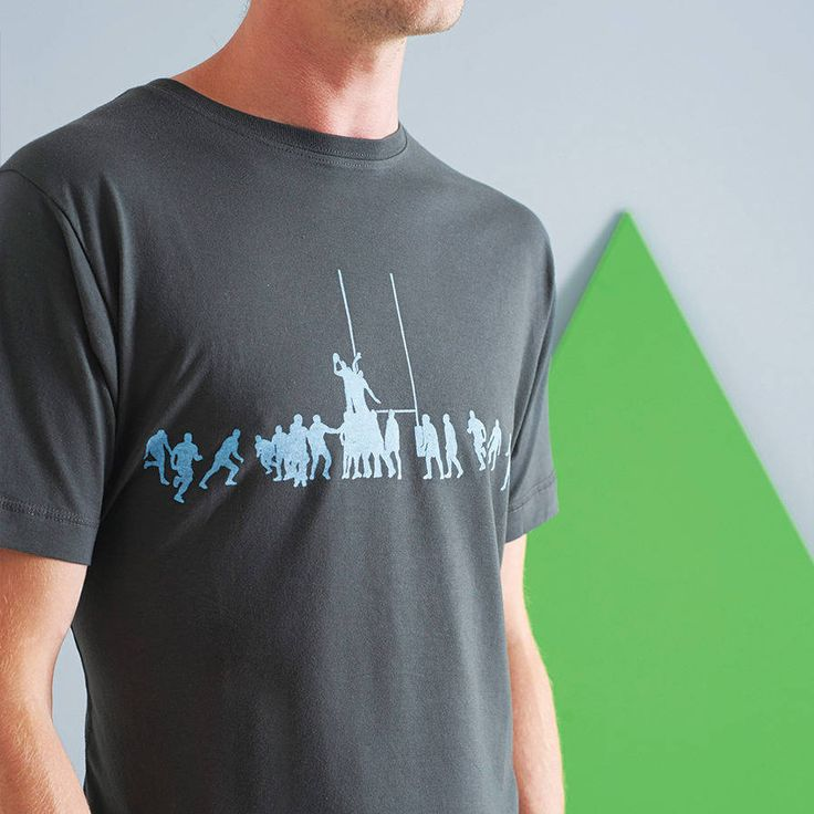 Rugby Lineout T Shirt from notonthehighstreet.com