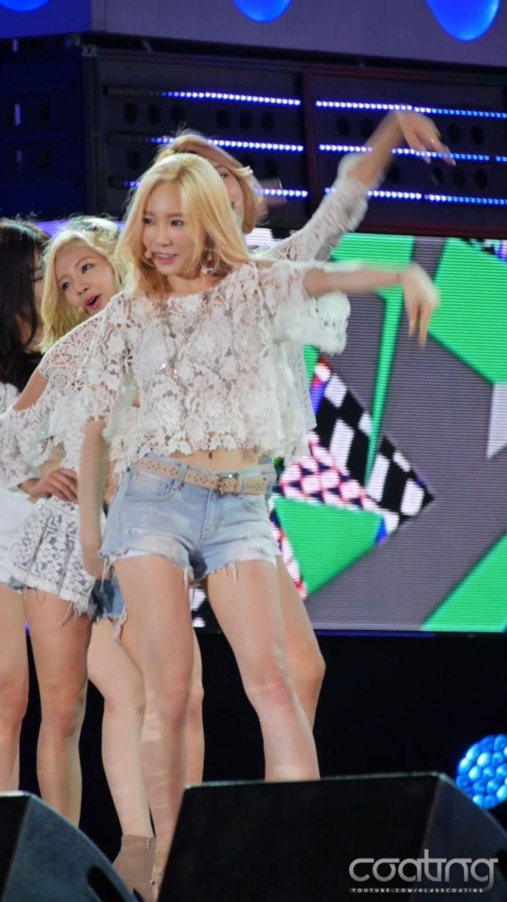 150727 울산음악중심 27 소녀시대(SNSD)-Gee(태연)/직캠 (Fancam) (Vertical)