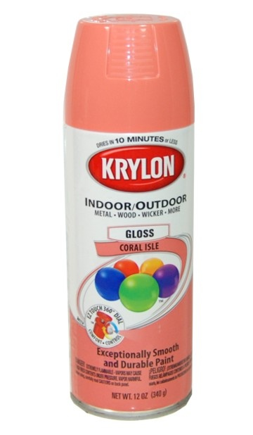 Coral Isle, color to paint home office accessories