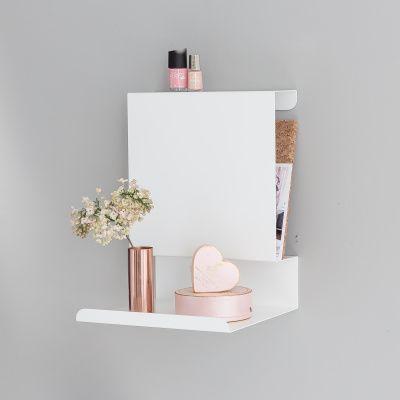 Ledge:able Shelf White