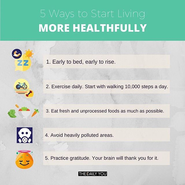 Without a sound body and mind, we won't be able to work well to live our higher purposes! Read: five ways to start living more healthfully | https://thedailyyouph.com/2016/10/11/tdy-5-live-healthfully  #TDY #TheDailyYou #TDY5 #Health #goodhealth #healthyliving #balance #gratitude #exercise #food #pollution #infographics #lifecoaching #lifecoachingph #bloggerph