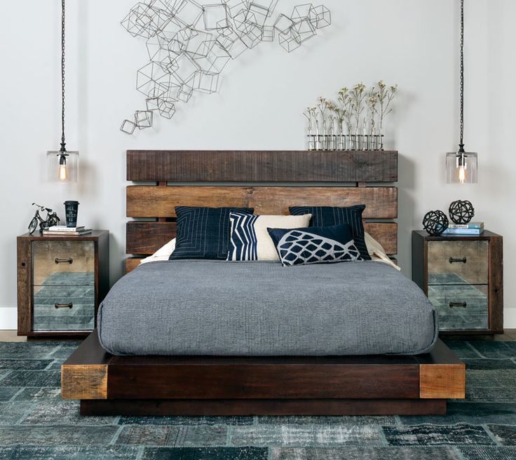 Sustainably Stylish. This is amazing. That bed is crazy stunning and I think I might be able to get the man-type person to actually agree on this one.