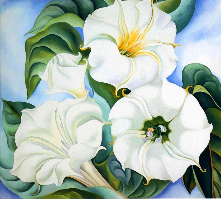 O'Keeffe, Georgia: Fine Arts, Before 1945 | The Red List