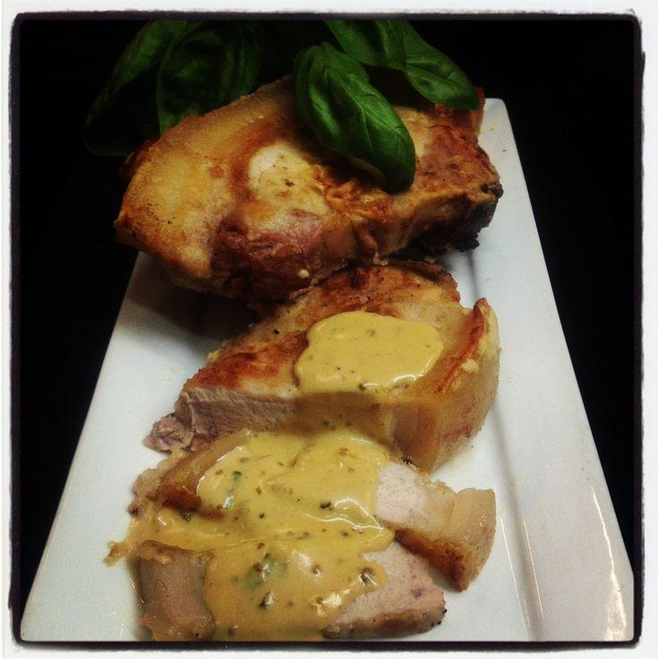 Pork Loin Chop with Masala Gravy
