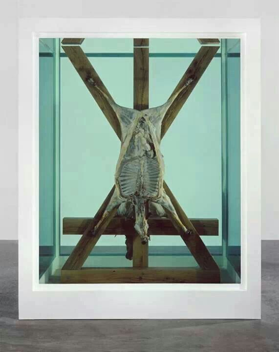 Damien Hirst is my guilt pleasure artist. I hate that I love his stuff.