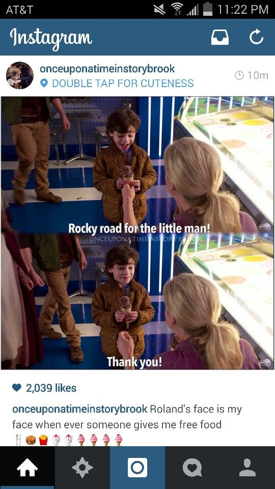 Whenever someone gives me free food (especially if it's ice cream!!)