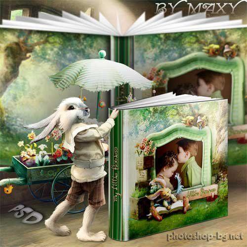 Photobook template - Happy Bunny
