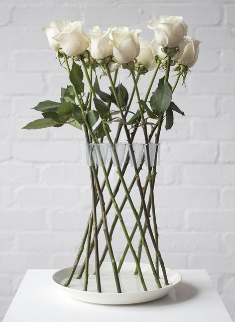 The Invisible Flower Vase