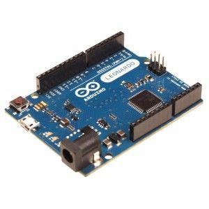 El modelo Arduino Leonardo es el nuevo modelo del team de Arduino. Utiliza un microcontrolador ATmega32U4 que permite un diseño mucho más sencillo y económico.