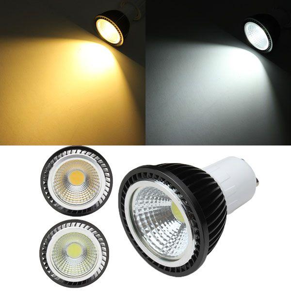 GU10 3W White/Warm White COB LED Spot Light Bulb AC85-265V