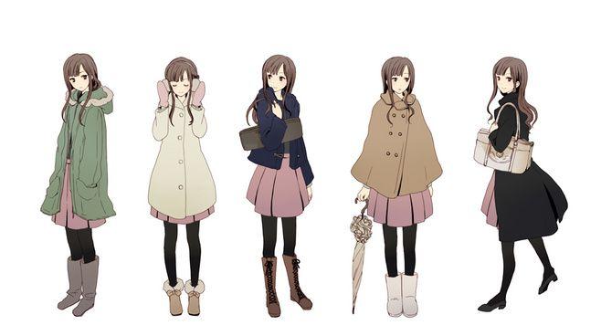 clothes references anime cartoon