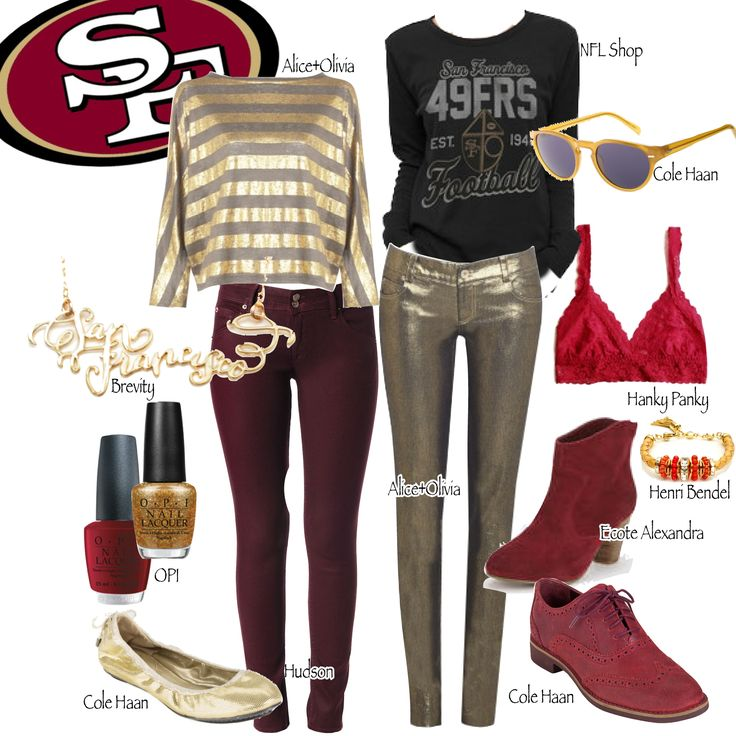 The hottest look for 49ers fans to wear this Super Bowl Sunday. #SuperBowl #49ers #SanFrancisco