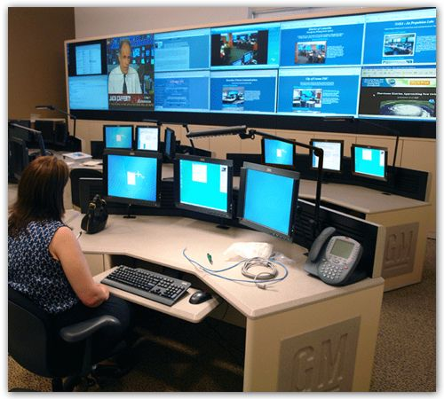 Manufacturing Operations  Consoles and DLP Video Wall