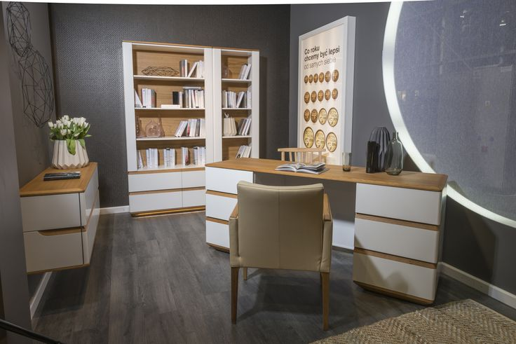 Modern Home Office, designed by Klose. #woodenfurniture #homeoffice #Klosefurniture
