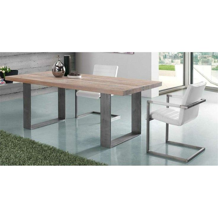The Huston Oak dining table from Oliver B. Casa - http://www.yourfurniture.co.uk/products/Huston-dining-table.html
