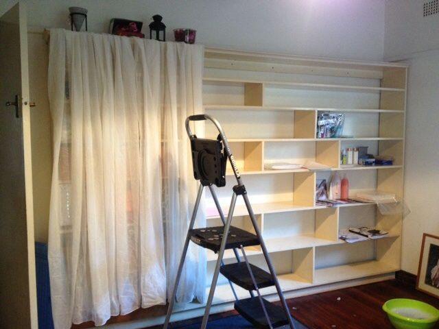 My work in progress - my own home beauty  salon :)