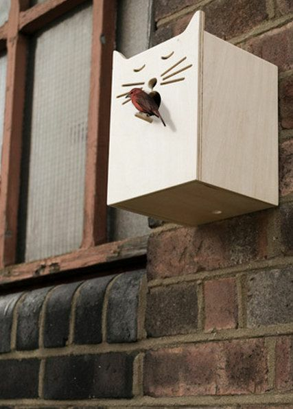 This is a very cool bird house