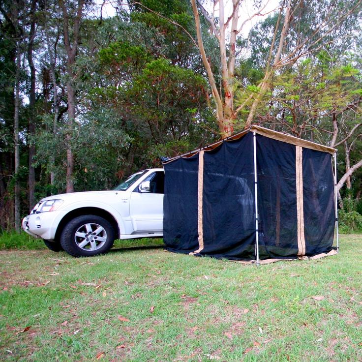 Tough Side Awning Mozzie Net 2x3m
