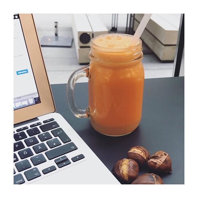 Work + Healthy Plan #maroni #carrot #ginger #healthyplanbyann #annalewandowska #autumn