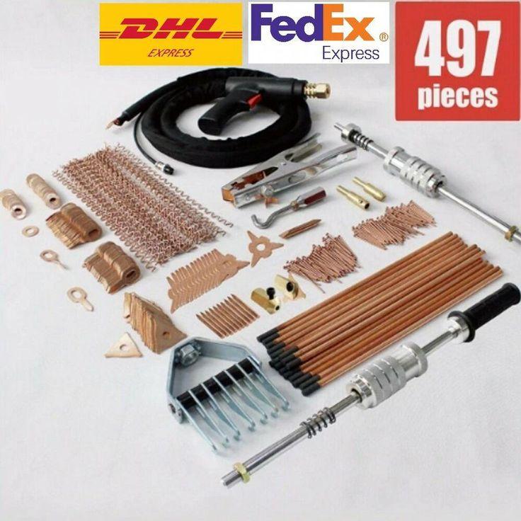 Stud welder dent puller kit spot welding pulling system