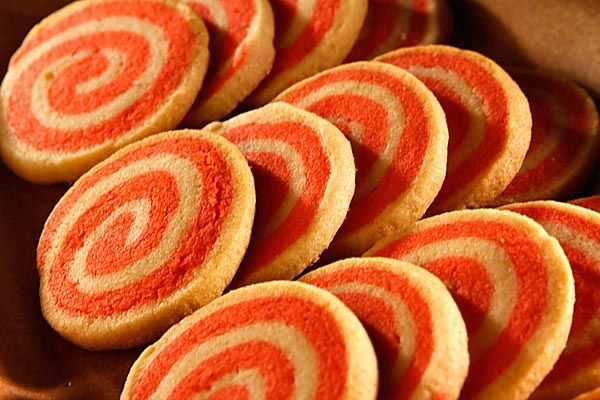 orange pinwheel cookies for Harmony Day | Celebration Days | Pinterest