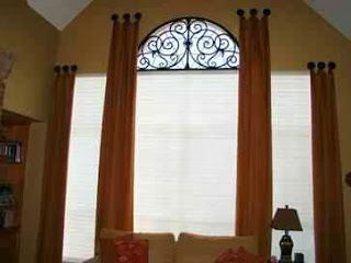 Window Treatments by Melissa: Ask Melissa: How To Dress an Eybrow Window or Half Circle Window