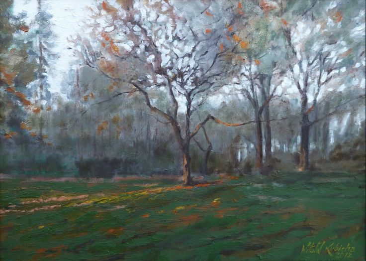 Oil on canvas. Author: Witold Kubicha