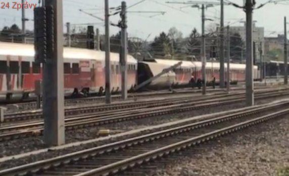 Ve Vídni se srazily dva vlaky: Sedm zraněných, 30 lidí museli vyprostit