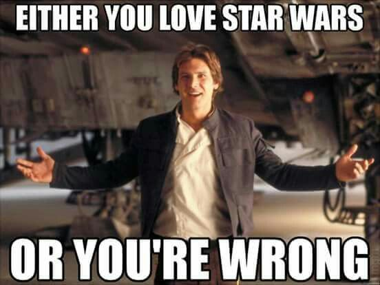 I LOVE STAR WARSSSSSSSS
